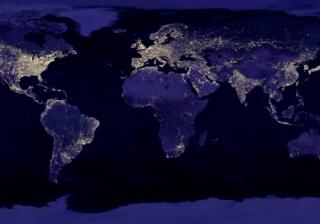 Cities at night 750