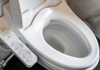 Futuristic toilet 808