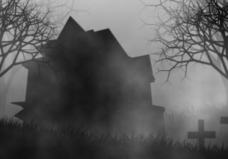 haunted house spooky halloween