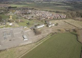 Newton Aerial garden Village plot 680