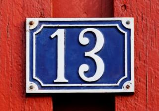 Number 13 131