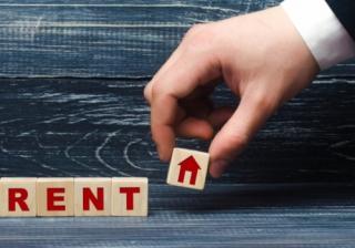 Landlord rent hand 3