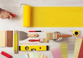decorating home improvement interior paint roller