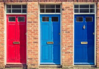 three doors houses
