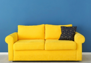 Yellow Sofa 222