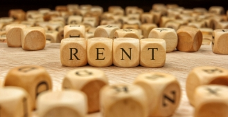 How do rises in rent compare to other major living costs?
