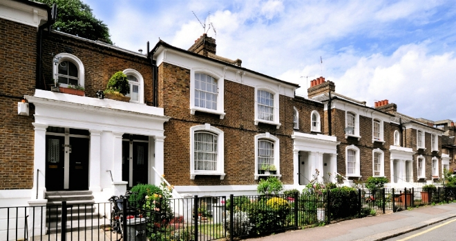 Row of Houses 2
