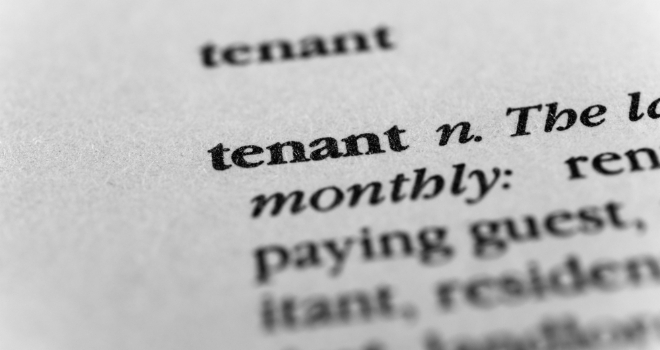 tenant word thing