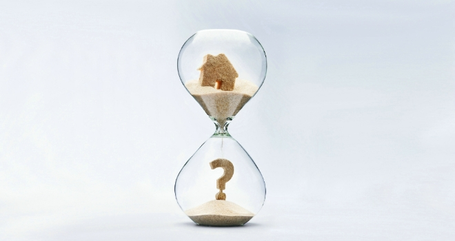 How long does the average UK property take to sell?
