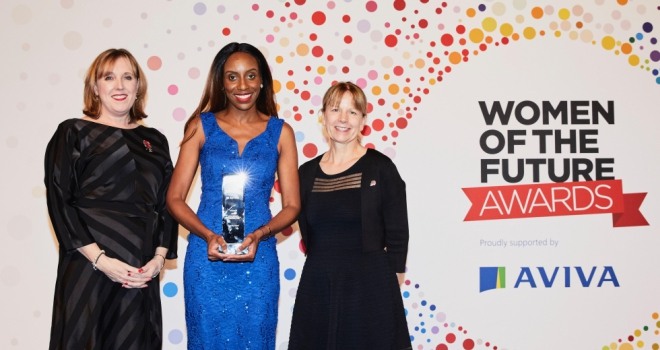 Property investment specialist, Ayesha Ofori wins Women of the Future Award