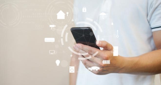 proptech app phone house digital