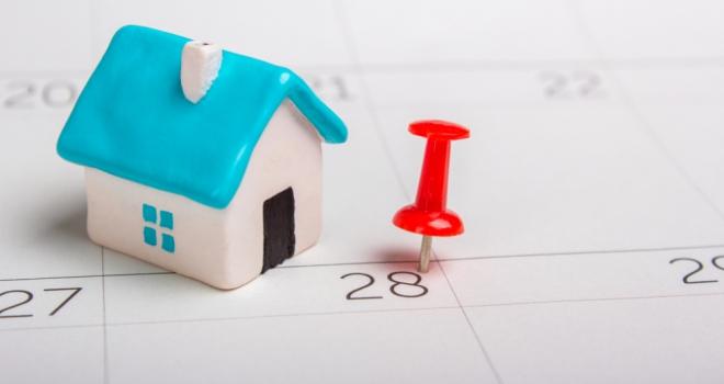 rent rental payment mortgage due date arrears calendar
