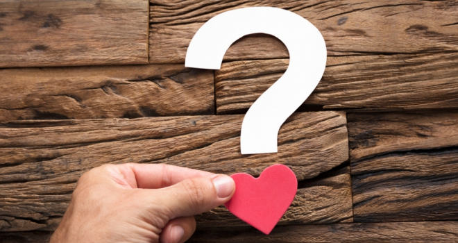 Question Mark Heart 580