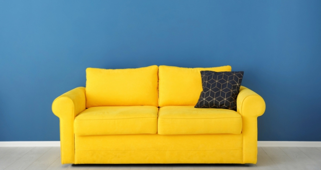 Yellow Sofa 222